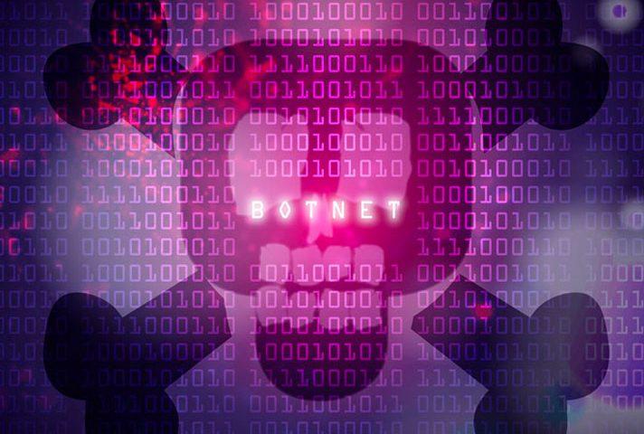 botnet che infetta la rete di computer